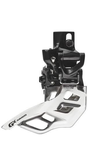 SRAM GX Forskifter 2x10-speed High Direct Mount Top Pull sort/sølv